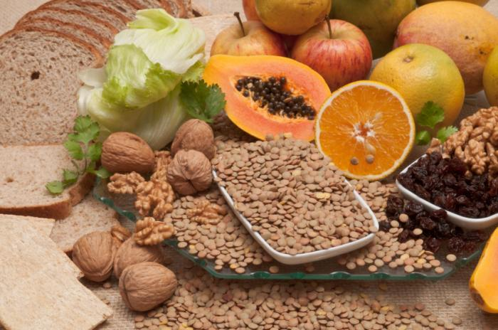 foods high fiber
