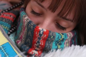 person with a cold