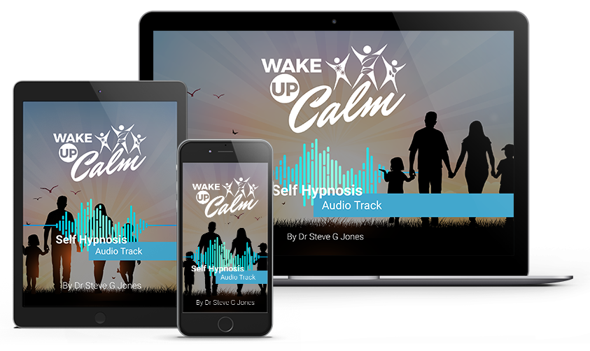 relief stress with waking up calm