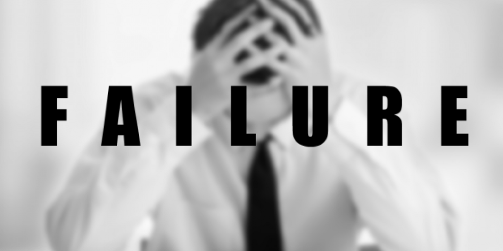 Failure and how to deal with it!